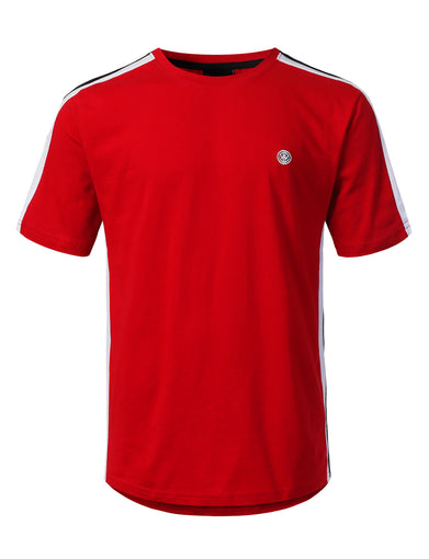 3 Stripe Side Panel Jersey T-shirt