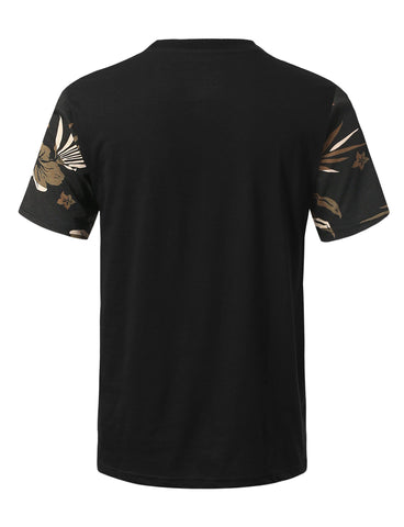 Camouflage Printed Pocket T-shirt