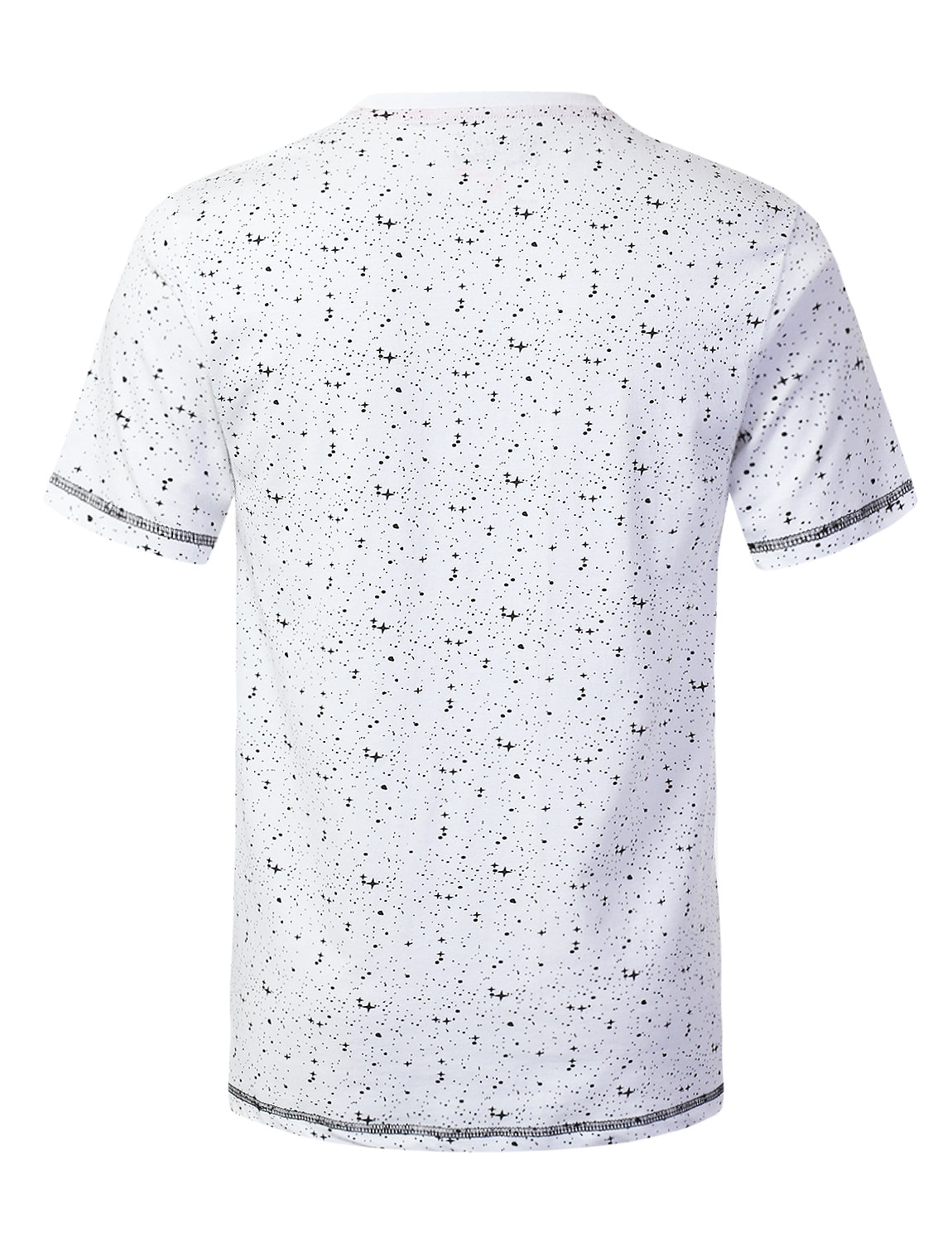 WHITE Moon Man Printed Pocket T-shirt - URBANCREWS
