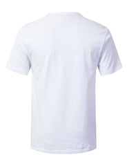 WHITE Mouse Printed Pocket T-shirt - URBANCREWS