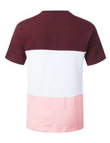Moto Colorblock Pocket T-shirt