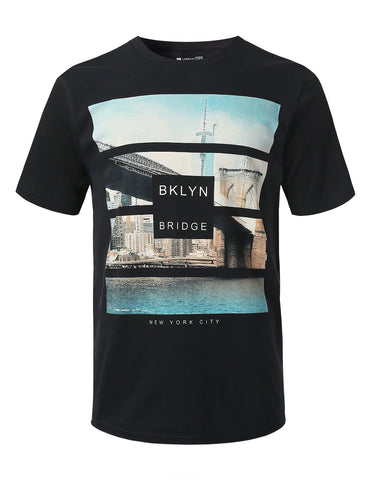 NY Saturation Graphic Print T-shirt