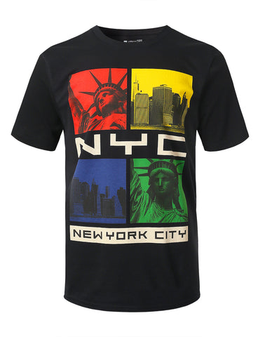 NYC Colorway Graphic Print T-shirt