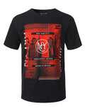 BLACK NYC Red Film Graphic Print T-shirt - URBANCREWS