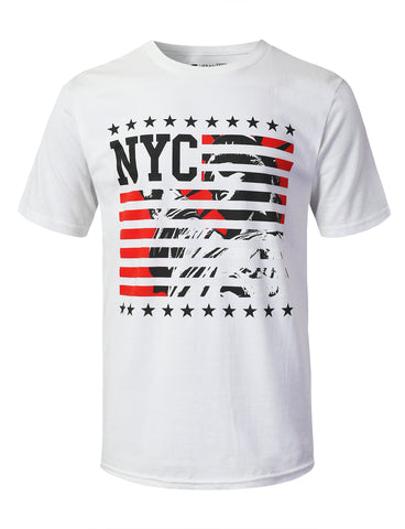 NYC Statue Graphic Print T-shirt