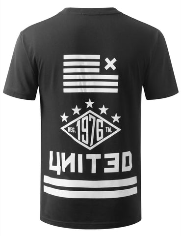 URBANCREWS United Printed Crewneck Tshirts