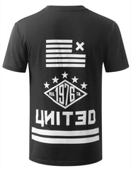 BLACK URBANCREWS UNITED TSHIRTS