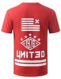 RED URBANCREWS UNITED TSHIRTS