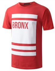 RED URBANCREWS BRONX TSHIRTS