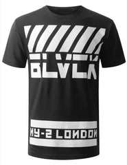 BLACK URBANCREWS London Crewneck Tshirts