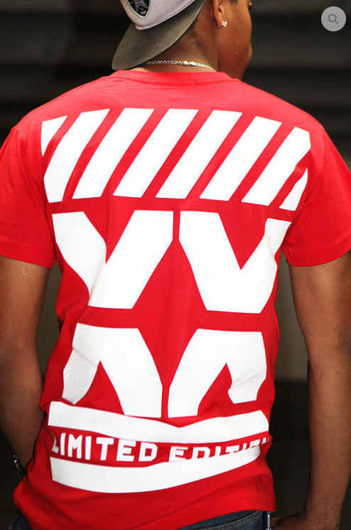 RED URBANCREWS London Crewneck Tshirts