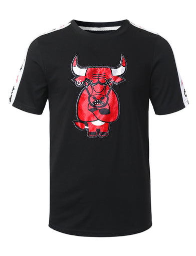 Bull Patch Graphic T-shirt
