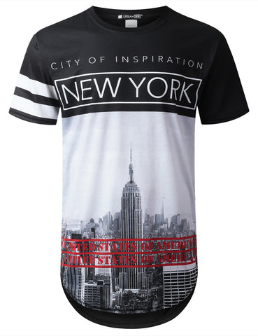 New York City Longline T-shirt
