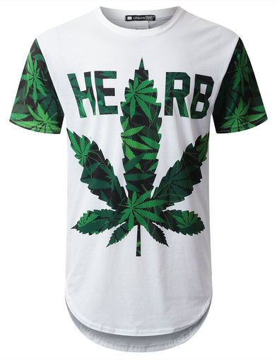 Herb 99 Weed Longline T-shirt