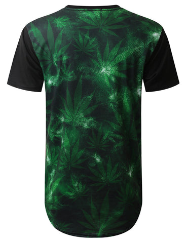 Cheifer 69 Weed Longline T-shirt