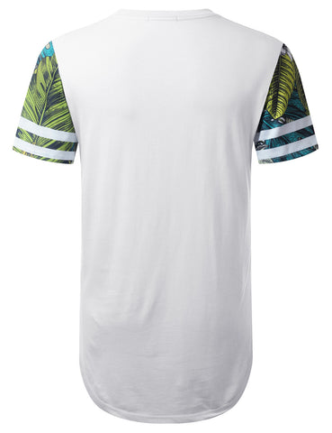 Cali 82 Tropical Longline T-shirt
