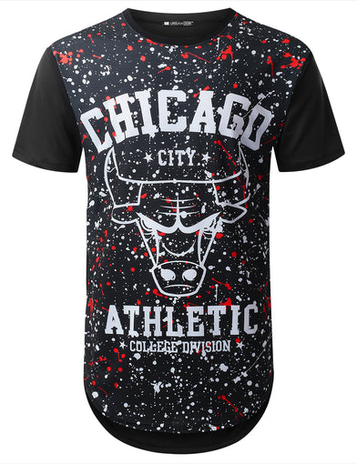 Chicago Varsity Longline T-shirt