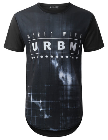 URBN Dyed Longline T-shirt