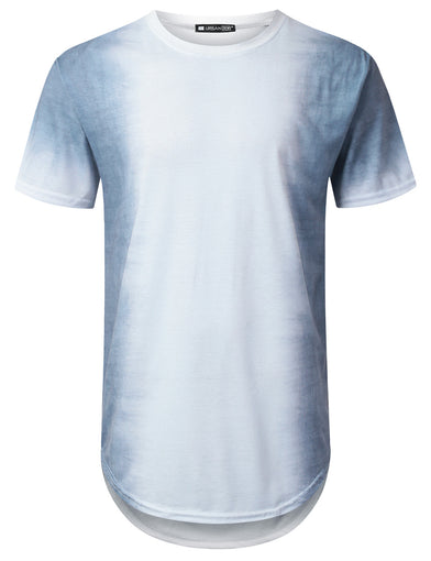 Gradient Dyed Longline T-shirt