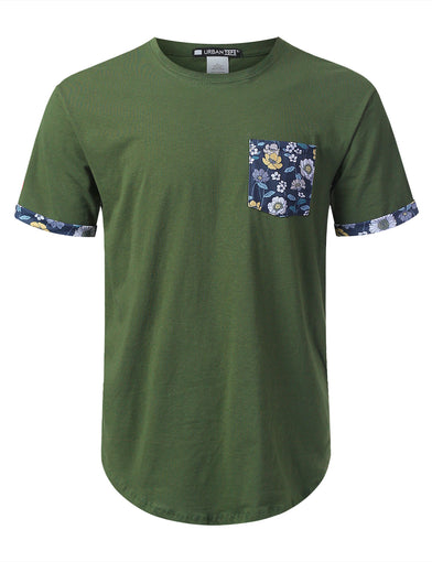 Dandelion Graphic Pocket T-shirt
