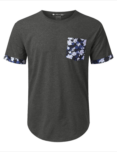 Maple Leaf Graphic Pocket T-shirt