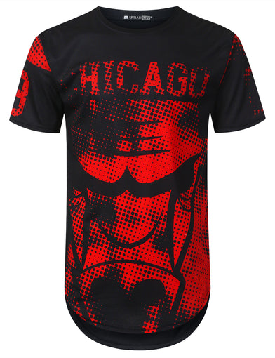 Horror Chicago 23 Longline T-shirt