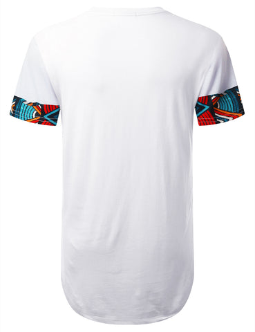 Twist Dashiki Longline T-shirt