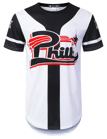 Philly Star Varsity Longline T-shirt
