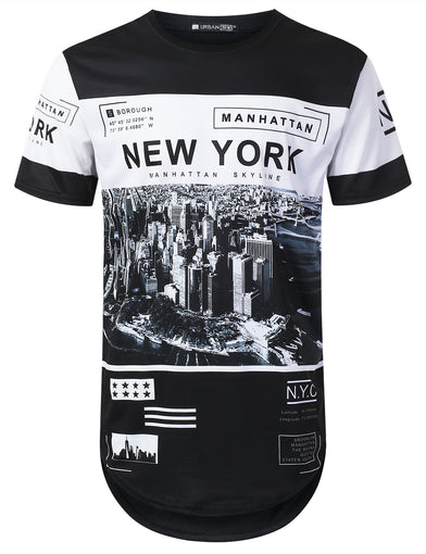 New York Manhattan Longline T-shirt
