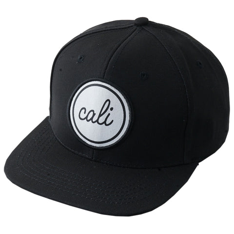 """cali"" Circle Patch Snapback"