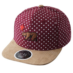 RED The Dots Strapback - URBANCREWS