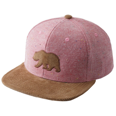 Ox Corduroy Bear Patch Snapback