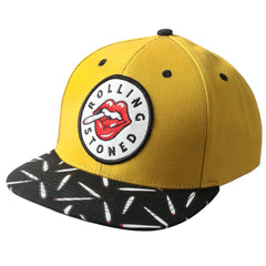 MUSTARD ROLLING STONED Patch Snapback - URBANCREWS