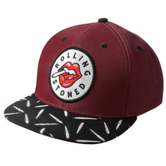 WINE ROLLING STONED Patch Snapback - URBANCREWS
