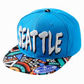 SEATTLE Hometown Aztec Bill Snapback - URBANCREWS