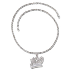 SILVER 100 Pendant Necklace - URBANCREWS