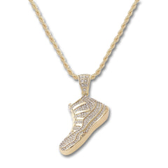 GOLD Shoe Pendant Necklace - URBANCREWS