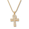 GOLD Ankh Pendant Necklace - URBANCREWS