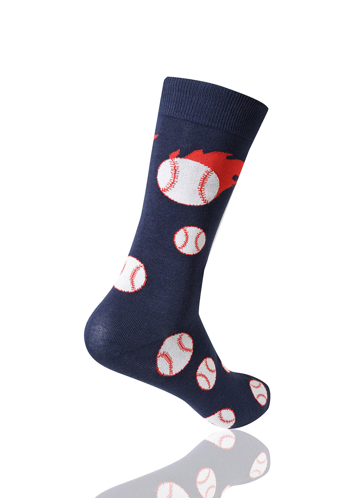 NAVY The Heater Novelty Socks - URBANCREWS