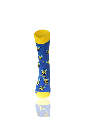 Bee Happy Novelty Socks