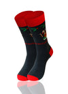 CHARCOAL I Hate Christmas Novelty Socks - URBANCREWS