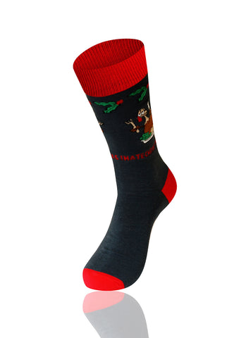 I Hate Christmas Novelty Socks