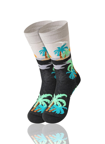 Sunset Novelty Socks