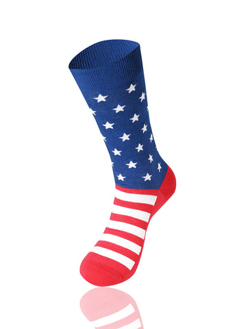 Stars And Stripes Novelty Socks