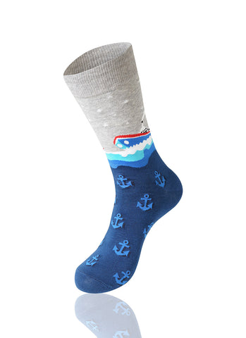 Steamboat Novelty Socks