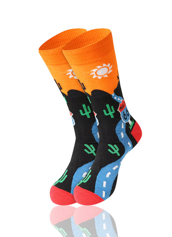 Route 66 Novelty Socks