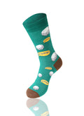 GREEN FORE! Novelty Socks - URBANCREWS