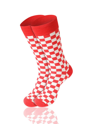 Checkered Novelty Socks