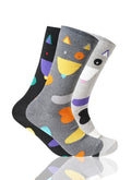 ASSORTED Aristo Cat 3 Pack Novelty Socks - URBANCREWS