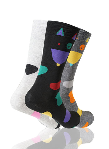 Aristo Cat 3 Pack Novelty Socks